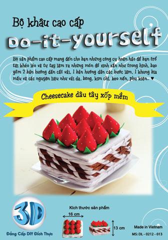 B13 Cheesecake vải dạ