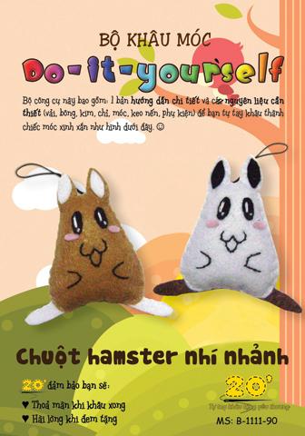 A090 Chuột hamster vải nỉ
