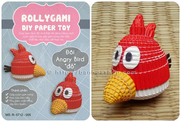 Angry bird đỏ hachigami