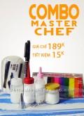 Combo Đất sét Master Chef