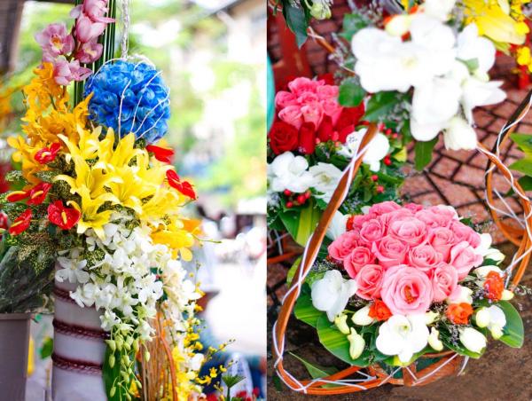 Hoa tươi, hoa đất handmade ngày nhà giáo Việt Nam