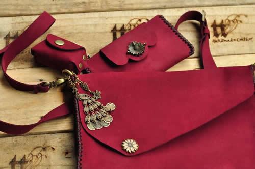 Túi handmade theo phong cách vintage