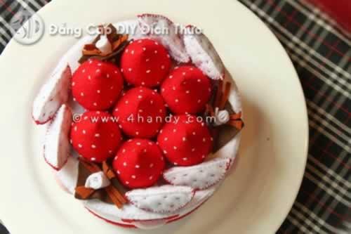 Bánh sinh nhật dâu tây