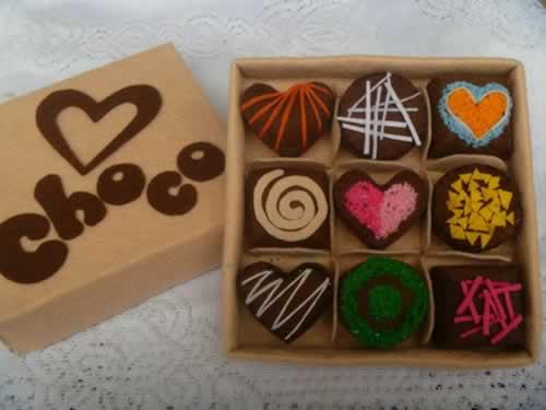 Bộ kẹo socola handmade vải nỉ làm quà tặng sinh nhật  người yêu, sinh nhật bạn gái thì còn gì bằng.