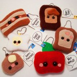 Móc khóa nỉ – quà tặng handmade kute và ấm áp!
