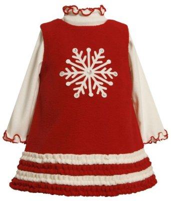 Váy noel cho bé gái. Cách may váy gần giống may váy đầu tiên nhé