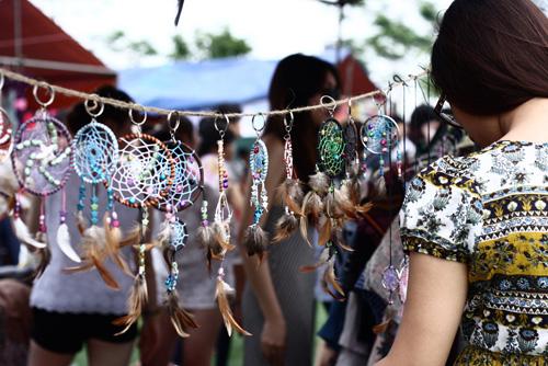 Dream catcher handmade có mặt tại rất nhiều hội chợ