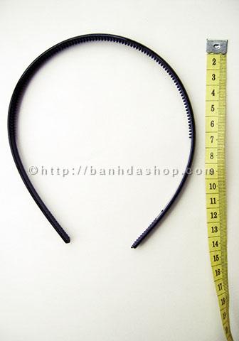 KT14 Bờm tóc trơn màu đen to