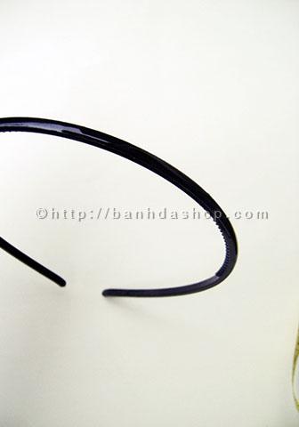 KT15 Bờm tóc trơn màu đen nhỏ