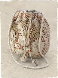 Túi xách ren  handmade