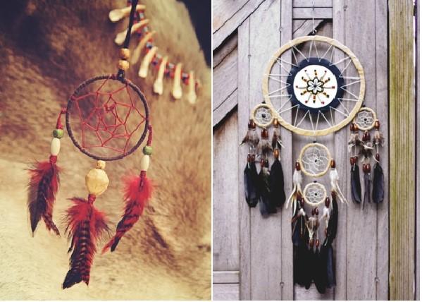 Những chiếc dreamcatcher tuyệt đẹp là biểu tượng của may mắn
