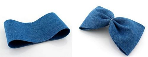 Thật dễ dàng để định hình chiếc nơ handmade cho kẹp tóc của bạn