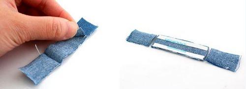 Chuẩn bị dải vải handmade – chi tiết không thể thiểu của cách làm nơ