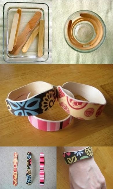 Hướng dẫn làm vòng tay handmade từ que kem và màu acrylic
