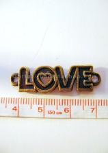Chữ Love hai đầu chữ o trái tim