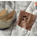 Tái chế giày búp bê handmade ngộ nghĩnh