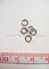 L11 Khoen tròn bạc nhỏ (nửa lạng)