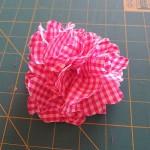 Làm hoa vải dạ, hướng dẫn làm vải vintage thành dây buộc tóc handmade xinh xắn