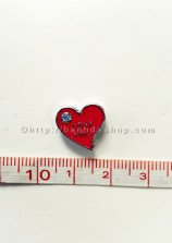 LA18 Trái tim đính đá