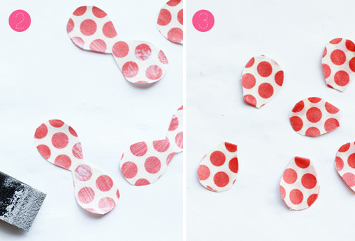 Cách làm hoa vải vintage tạo nên cánh hoa handmade đều màu cả 2 mặt