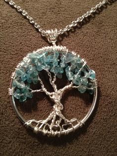 Làm dây chuyền handmade tree of life kiểu phổ biến
