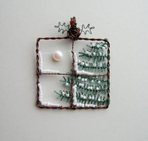 Sáng tạo với tree of life - wire art tạo hình giáng sinh