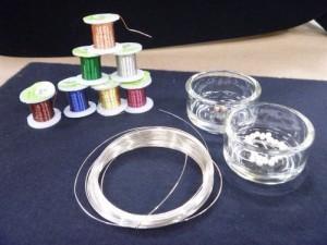 Hạt đá, hạt vòng làm dây chuyền handmade
