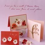 Cách làm thiệp quilling (thiệp giấy xoắn) hoa đồng tiền và hoa lan chuông