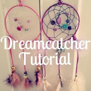 Hướng dẫn làm Dreamcatcher từ dây da lộn, hạt gỗ, lông vũ, dây cói…