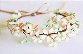 14 Làm Floral Headband (vòng hoa đội đầu) từ dây thép và sơn móng tay đẹp khó tin