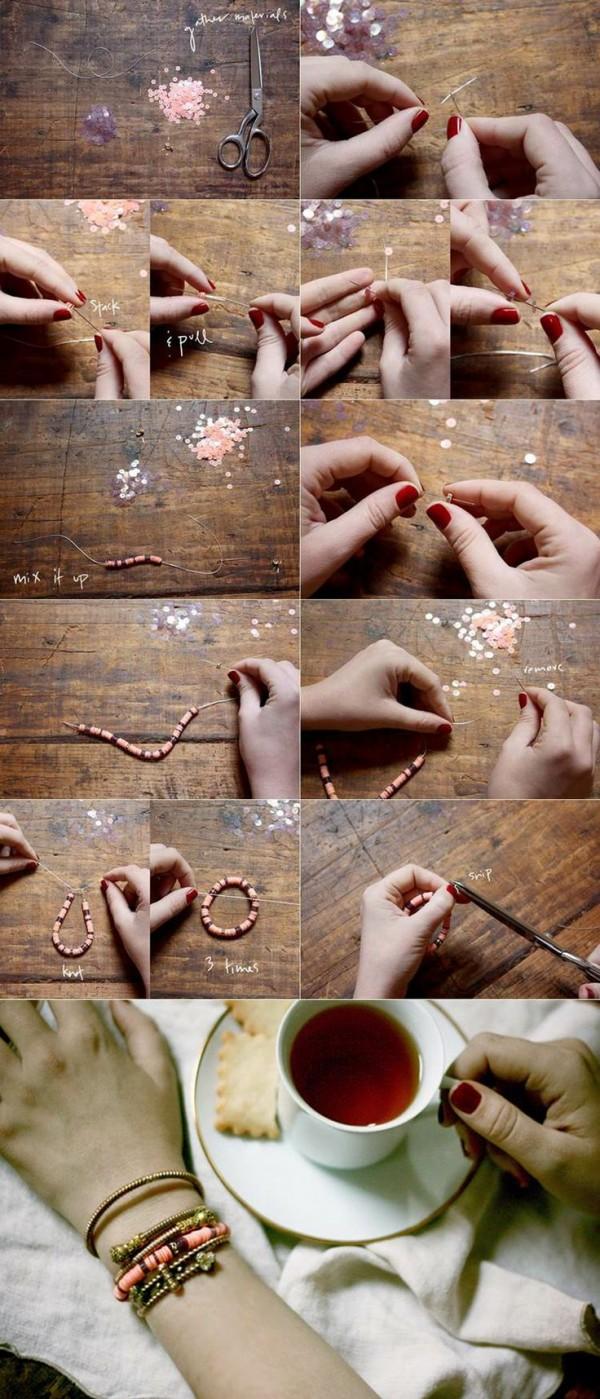113 600x1399 1 loạt cách sáng tạo vòng handmade từ dây cói, sequin, dây da và ngọc trai