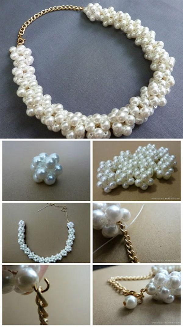 25 600x1069 1 loạt cách sáng tạo vòng handmade từ dây cói, sequin, dây da và ngọc trai