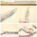 1 loạt cách sáng tạo vòng handmade từ dây cói, sequin, dây da và ngọc trai