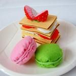 """Cảm nhận vị """"ngọt"""" bánh Macaron làm từ…vải dạ nỉ"""