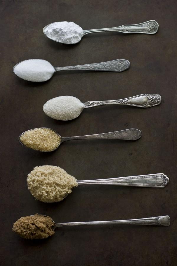 Bạn có kể tên và phân biệt được các loại đường làm bánh trên?