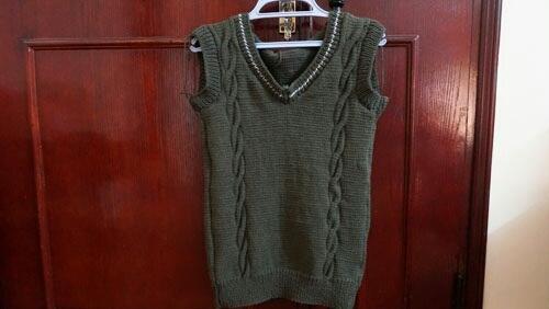 Cách đan áo ghile tặng nửa yêu thương