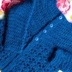 Cách móc áo len đơn giản cho bé gái
