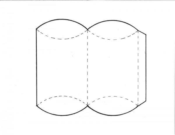 mẫu hộp quà valentine pillow box