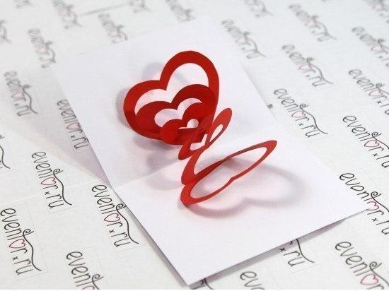 Hướng dẫn làm thiệp valentine handmade 3D
