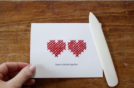 Cách làm thiệp valentine handmade pixel