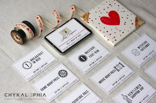 Coupons love  - quà valentine ý nghĩa