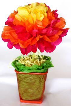 Chậu hoa màu sắc _ quà tặng valentine tuyệt vời