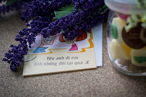 Thông điệp ý nghĩa tặng kèm socola valentine