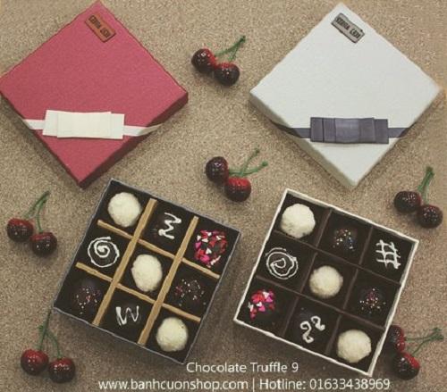 Truffle socola valentine lạ miệng