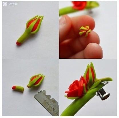 Nặn nụ hoa và bắt đầu trang trí