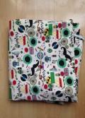 Vải canvas mẫu 22 – 50x70cm