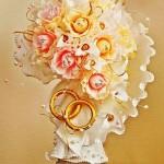 Sáng tạo làm lọ hoa xinh xắn từ giấy nhún