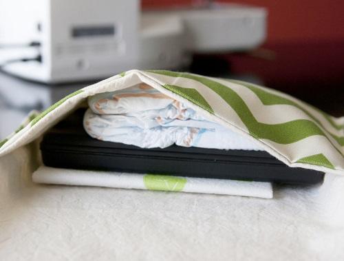 Cách làm túi vải handmade