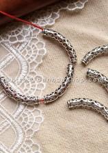 Ống trụ luồn dây cong mẫu 1