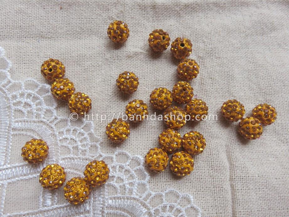 Hạt dẹt viền lấp lánh xanh đỏ vàng